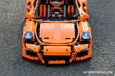 porsche 911 front view review lego 42056 technic porsche 911 gt3 rs