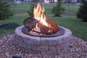 Build Your Own Firepit How To Build An Outdoor Firepit The Polkadot Chair