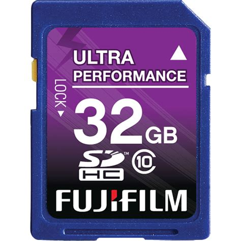 Memory Card Kamera Fujifilm fujifilm 32gb sdhc memory card class 10 600008925 b h photo