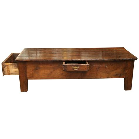 Antique Oak Coffee Table Antique 19th Century Oak Coffee Table At 1stdibs