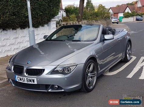 bmw 630 for sale 2005 bmw 630i for sale in united kingdom