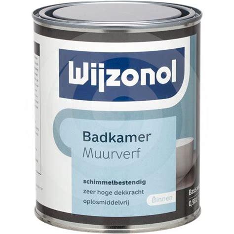 anti schimmel coating badkamer voorbeeld anti schimmel coating wijzonol badkamer muurverf