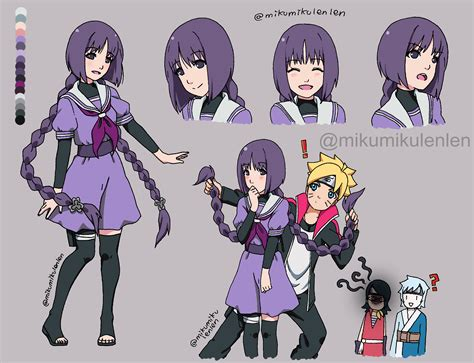 boruto x sumire kakei sumire boruto zerochan anime image board