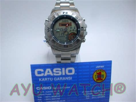 jam tangan casio digital analog original amw 704d outgear fishing gear series jam tangan murah