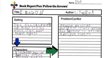 eragon book report dw s homeschool eragon book report worksheet