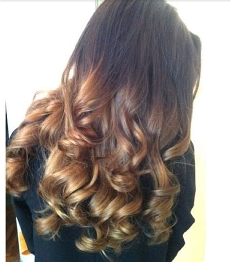 hairstyles with drop curls ombre drop curls syd pinterest