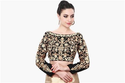 boat neck gala blouse boat neck blouse designs 15 latest blouses are the rage
