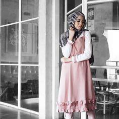 Hasna Tunik Top baju atasan berhijab ala selebgram 2018