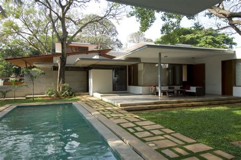 kerala home design with swimming pool gallery of vastu house khosla associates 7