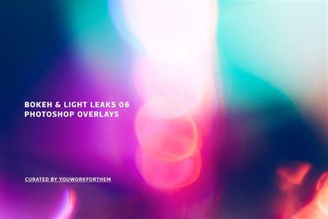 light leak photoshop bokeh light leaks 06 photoshop overlays graphics