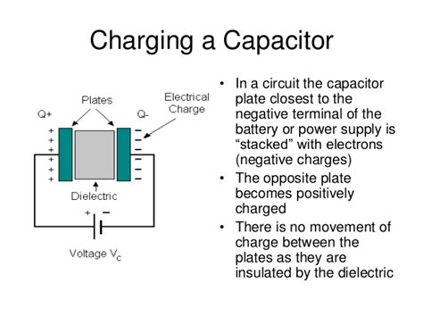 if a capacitor has opposite capacitors