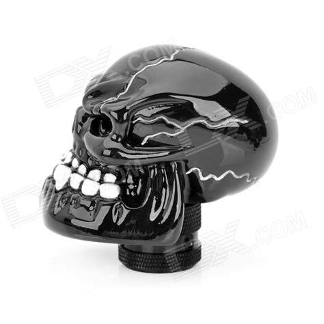 Resin Shift Knobs by Cool Skull Style Resin Car Gear Shift Knob Black White