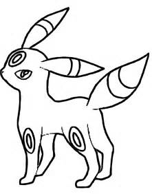 umbreon coloring az coloring pages