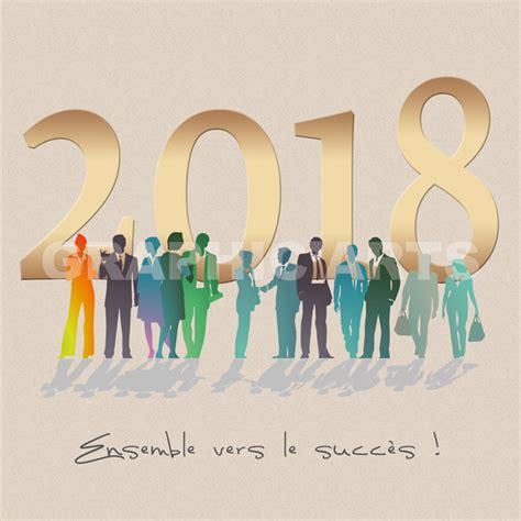 Modele Voeux 2018 cartes de voeux entreprise 2018 editions agence graphicarts