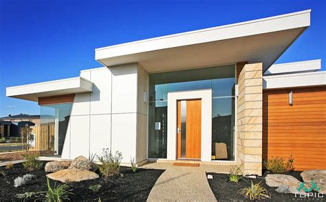 modern home design builders modern flat roof home designs builders geelong