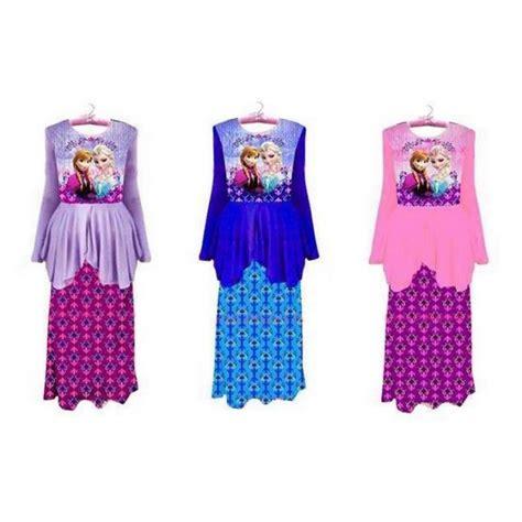 Jepitan Baju Jb1 Set Of 20 Pcs frozen baju kurung 2pcs set