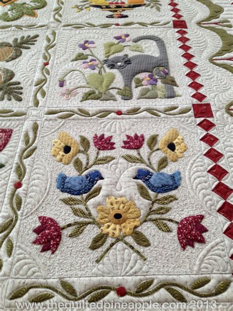 Pineapple Patchwork - the quilted pineapple heartland quilt quilt