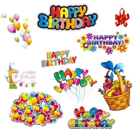 happy birthday design elements happy birthday png design elements free