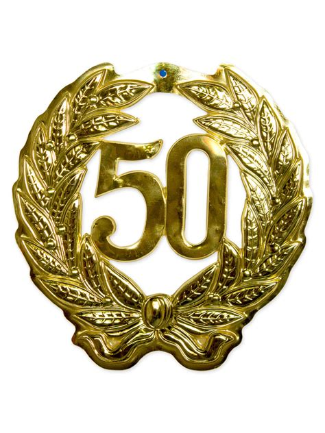 Hochzeit 42 Jahre by Wandschmuck 50 Goldene Hochzeit Deko Gold 42cm Hochzeit