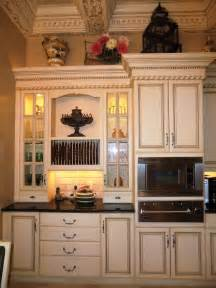 Antique Finish Kitchen Cabinets by Traditional And Vintage Impression In Antique White