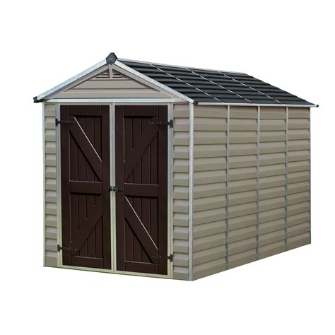 palram skylight  polycarbonate storage shed nw