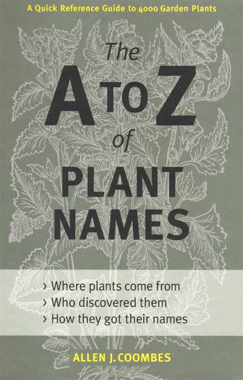 garden flowers a z garden plants names and pictures pdf