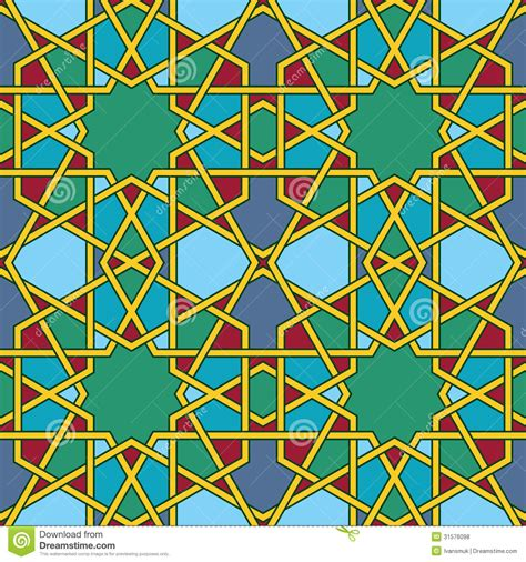 Spanish Floor arabic mosaic royalty free stock photos image 31576098