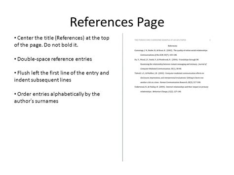 create   style reference page  video
