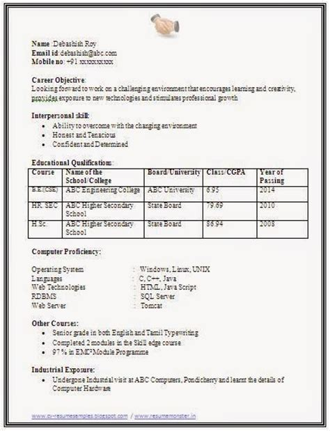 10000 cv and resume sles with free computer science resume