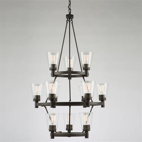 12 Bulb Chandelier Artcraft Lighting Clarence Ac10762ob 12 Light Chandelier Artcraft Lighting