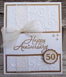 2 scrap n make cards 50th anniversary