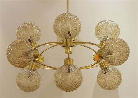 Large Globe Chandelier Exceptionally Large Orbital Globe Chandelier In Brass At 1stdibs