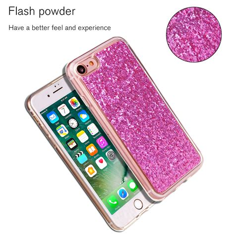 apple iphone  fashion bling glitter hybrid rubber soft case cover girl lady ebay
