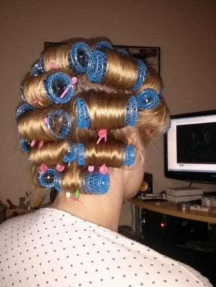 my boyfriends hair in curlers 1000 images about and that s the way i roll on