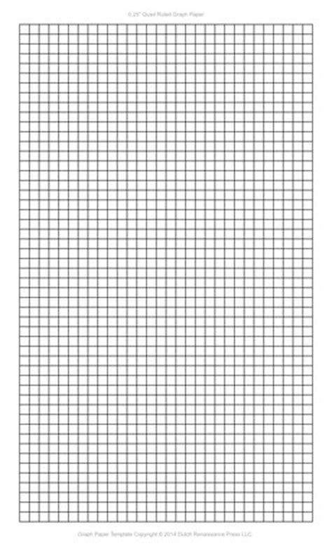 1 4 inch graph paper template 1 4 inch graph paper template pdf templates