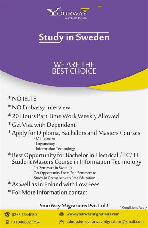 Mba In Sweden Without Ielts by Brochure Of All Country