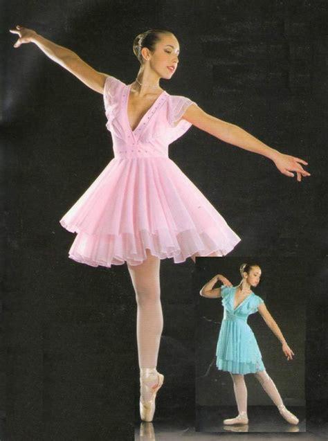 Ballet Dress symphony lyrical dress ballet skating pink blue