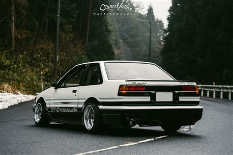 The Living Legend // Sato's Gorgeous AE86.   StanceNation