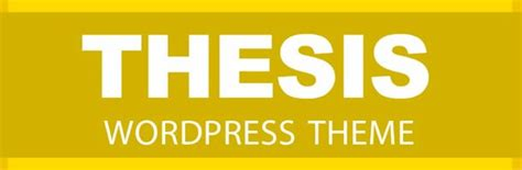 Thesis Themes Reviews by Thesis 2 0 Theme Review
