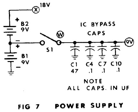 capacitors in power supply circuits all capacitors in uf unless notedall resistors in k ohms unless noted