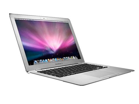 Laptop Apple Mac Air apple macbook air 1 6 ghz intel core2duo speed 1 6ghz ram 2gb laptop notebook price in india