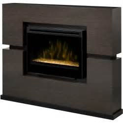 dimplex linwood 65 inch electric fireplace with glass