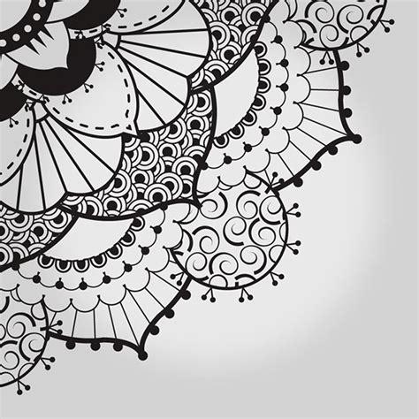 henna pattern on behance