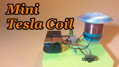 Tesla Coil Mini Mini Slayer Exciter Tesla Coil How To Make It