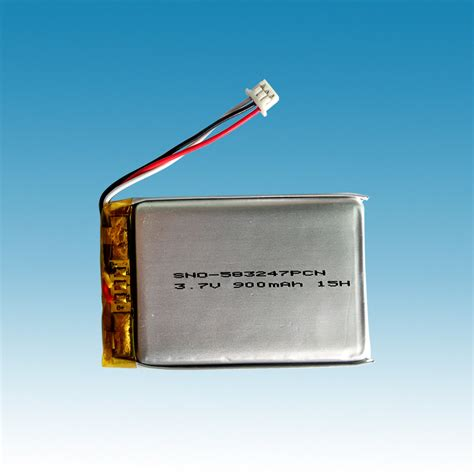 Battery Li Polymer 3 7v 900mah 3 7v 900mah li ion polymer battery packs starnovo