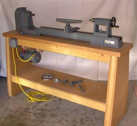 wood lathe bench guide building lathe bench woody work