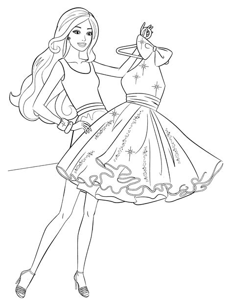 barbie life in the dreamhouse coloring pages barbie in the dream house coloring page pages for girls