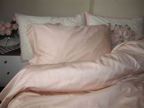 pale pink queen duvet cover set solid plain pink bedding