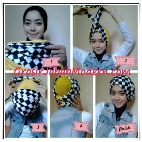 Kerudung Dan Turban Anak Instan cara pakai turban tissa grosir jilbab modern jilbab