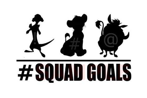 Disney In Squad instant disney squad goal disney silhouette